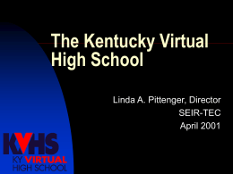 Kentucky Virtual High School