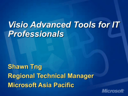 Visio Advanced Tools for IT