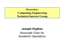 Computer Engineering Technical Interest Group (TIG)