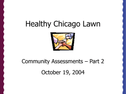 Healthy Chicago Lawn