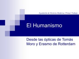 El Humanismo - Clase de Historia
