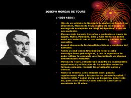 JOSEPH MOREAU DE TOURS ( 1804
