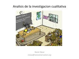Analisis de la investigacion cualitativa