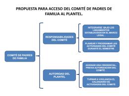 PROPUESTA PARA EL ACCESO AL PLANTEL DE PADRES DE …