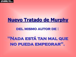 Leis de Murphy - El Manifiesto
