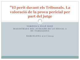 El despido disciplinario ICAB/UOC Barcelona 3/03/2014