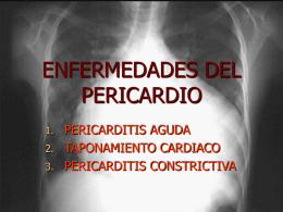 ENFERMEDADES DEL PERICARDIO - ::.. Aula-MIR