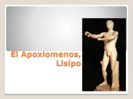 El Apoxiomenos, Lisipo