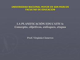MODULO III: GESTION Y PLANEAMIENTO EDUCATIVO