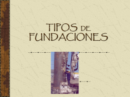 TIPOS DE FUNDACIONES - Planos de Casas
