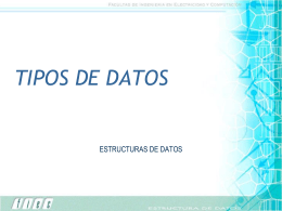 INTRODUCCION A LAS ESTRUCTURA DE DATOS
