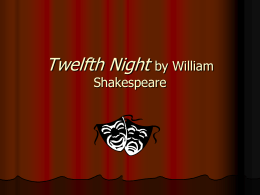 Twelfth Night - Deer Park ISD