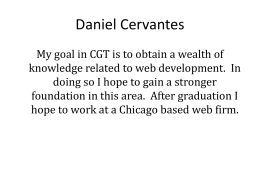 Daniel Cervantes - Purdue University