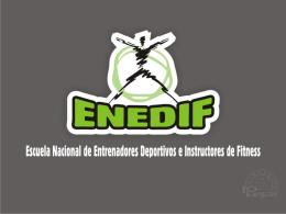 Diapositiva 1 - ENEDIF