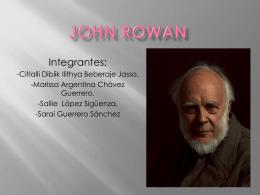 JONH ROWAN