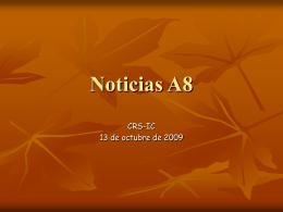Noticias A8