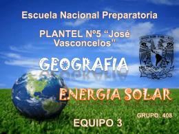 "ESCUELA NACIONAL PREPARATORIA Plantel N.5 ""JOSE"