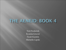 The aeneid: book 4 - Lake