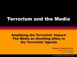 Terrorism: Media