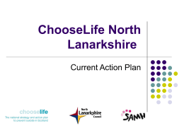 ChooseLife North Lanarkshire