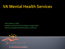 VA Mental Health Services