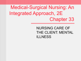 Medical-Surgical Nursing: An Integrated Approach, 2E