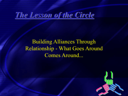 The Lesson of the Circle - University of Texas at Austin