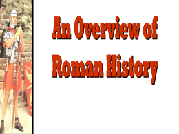 Ancient Rome - Regents Review