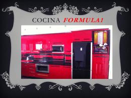 Cocina Formula1