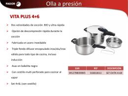 PAE cocina