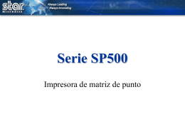 SP500 Series - Star Micronics