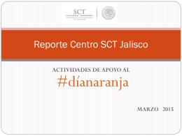 Reporte Centro SCT Jalisco