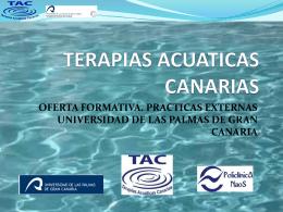 TERAPIAS ACUATICAS CANARIAS
