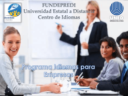 Universidad Estatal a Distancia Centro de Idiomas