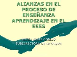 ALIANZAS ENTRE EL PROFESOR Y LA BIBLIOTECA DE …
