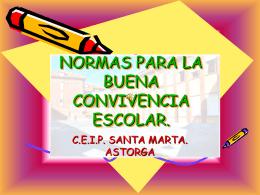 NORMAS PARA LA ENTRADA