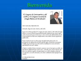 EL SALVADOR, CONGRESO DE CENTRO AMERICA Y …