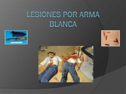 Lesiones por arma blanca - Portal de Alumnos de
