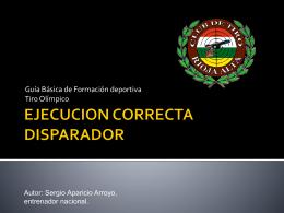 EJECUCION DIRECTA DISPARADOR