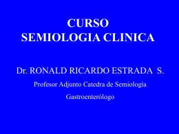 CURSO SEMIOLOGIA CLINICA
