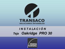 Diapositiva 1 - Transaco :: Soluciones Integrales