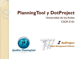 PlanningTool y DotProject