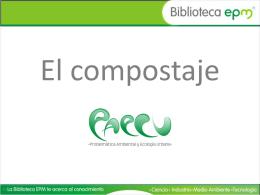 El compostaje - Problematica Ambiental y Ecologia Urbana