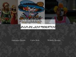 Dia De LOS MuERTOS - SPANISH3Larrotta