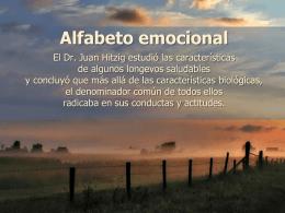 Alfabeto emocional - COF Virgen de Olaz