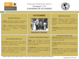 Programa nacional de lectura estrategia 11+5