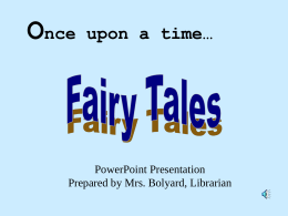 Fairy Tales - Lamar Middle School