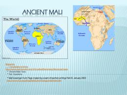 Ancient Mali - Loudoun County Public Schools