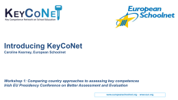 European Policy Network on the Implementation of Key