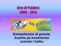 Arte di Palabra 2000-2011